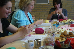 workshop haken bij Kunjijook